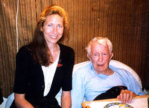 Victoria with Paul Bowles