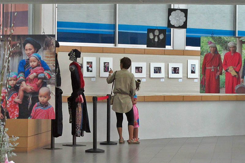 People with hats, Photo Exhibit